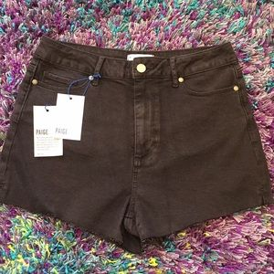 Paige High Rise Shorts